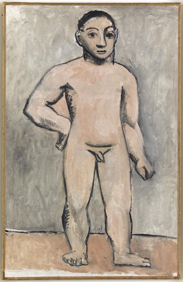 Картина Пикассо и африканское искусство