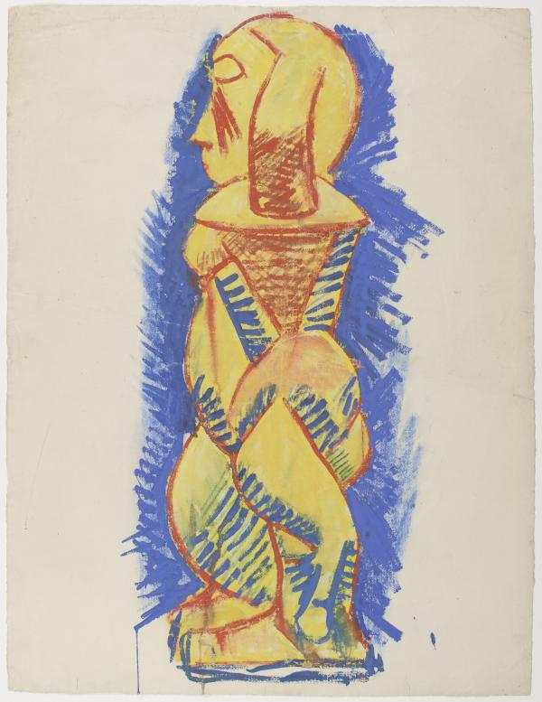 Картина Пикассо и африканское искусство 2