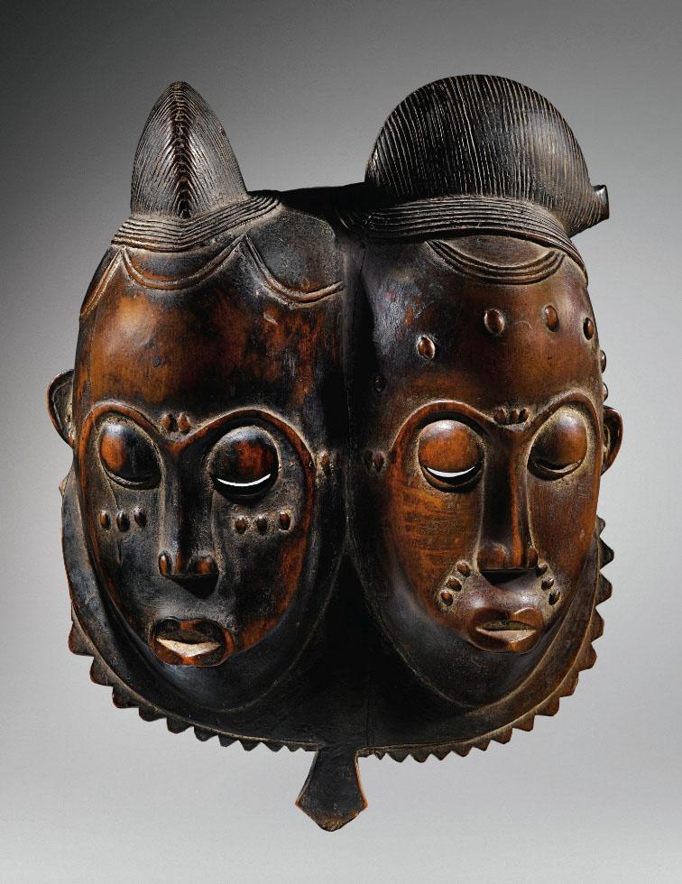 Африканская маска из Кот Дивуар - ценовой рекордсмен