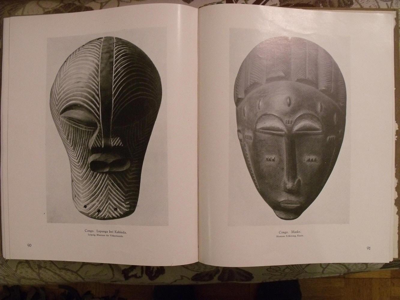 Африканские маски из Конго