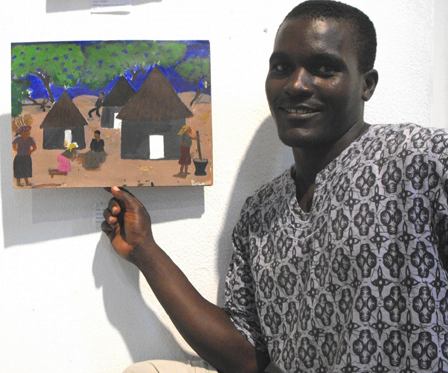 Henry Tayali's painting