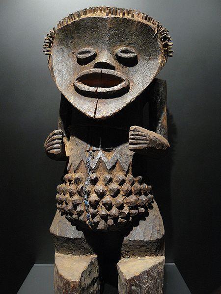 Ритуальная африканская статуэтка Mambila, Камерун