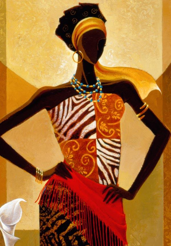 Африканский стиль в изображении художников