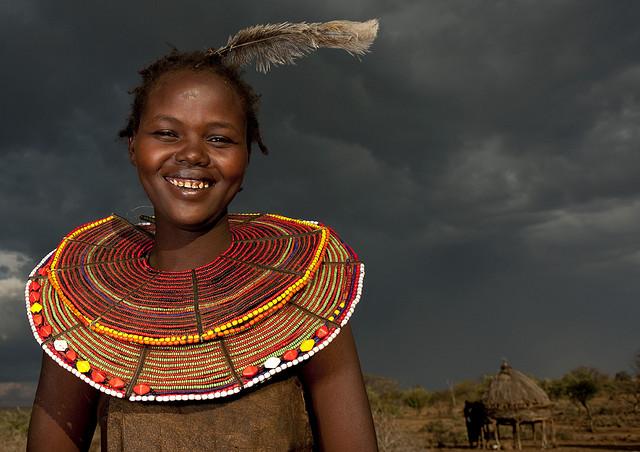 Девушка масаи