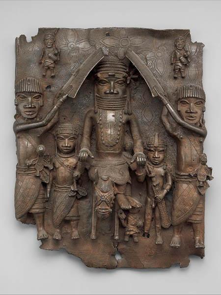 Бенинская бронза в музее Metropolitan