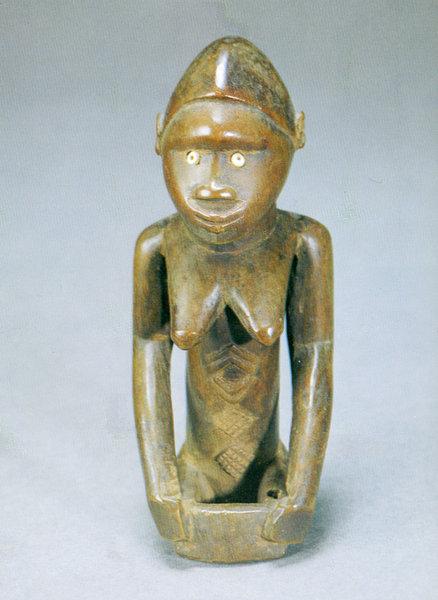 132. Женская фигура. Конго (Браззавиль). Дерево. Стокгольм, Этнографический музей