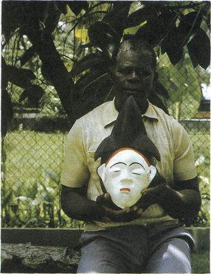 Фоста Мусунда. Мастер по изготовлению африканских масок (Габон)