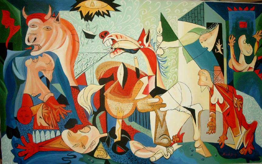 Герника Пикассо и африканское искусство
