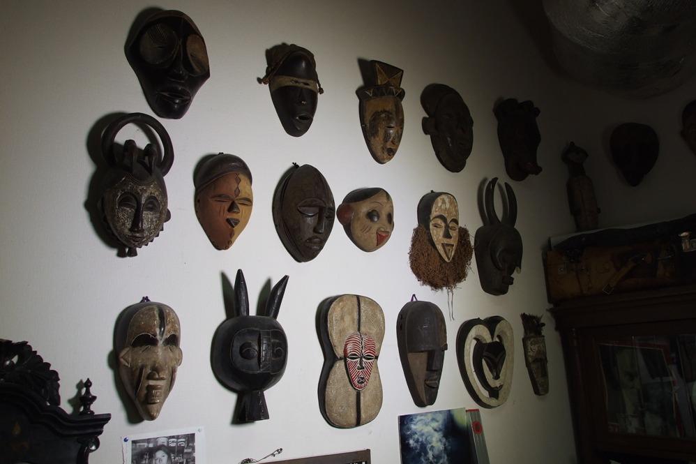 Коллекция африканских масок Всеволода Спесивцева