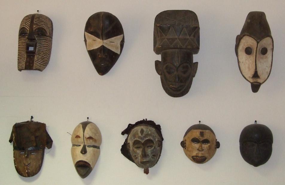 Африканские маски Всеволода Спесивцева