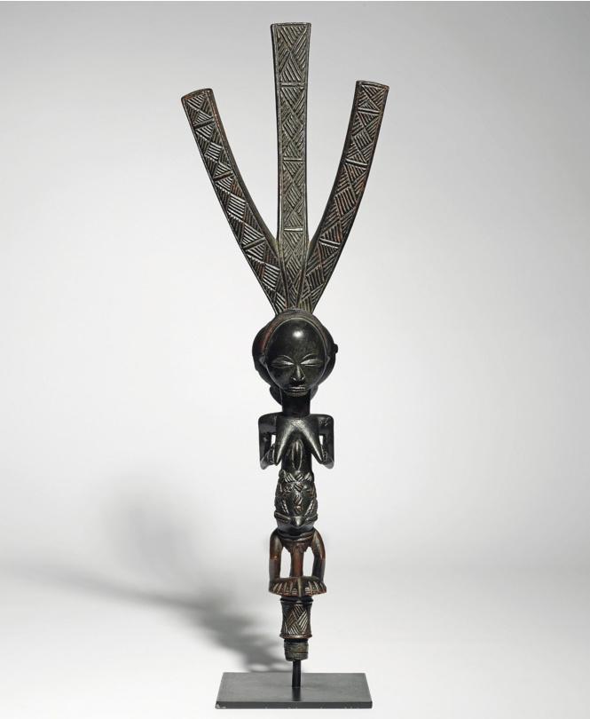 Африканская статуэтка Luba - ценовой рекордсмен 2015 года