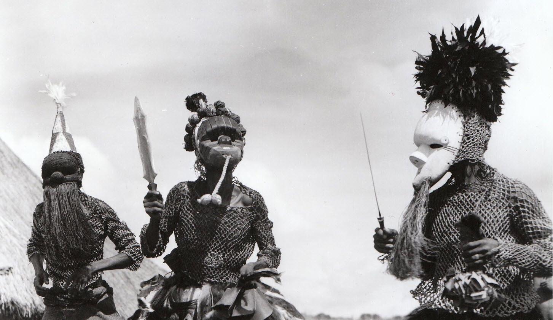 Африканские маски народа Salampasu (Салампасу)