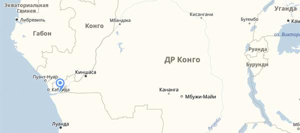 Маска народности Biombo (Конго)