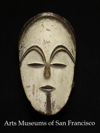 Африканская маска народа Vuvi