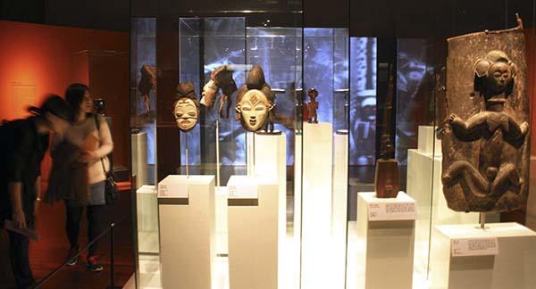 """Выставка """"Река Конго"""" и африканская маска Punu"""