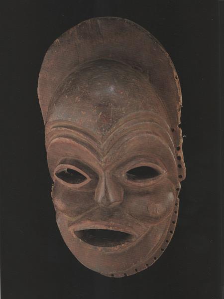 Маска народа Mbunda (Замбия) Sachihongo