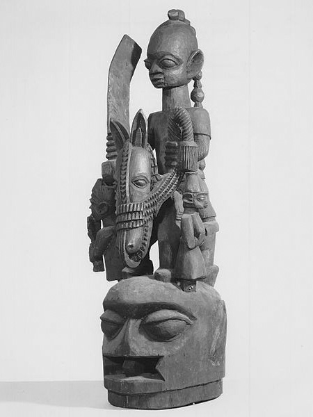 Маска Yoruba Epa из коллекции Brooklyn Museum (Бруклинского музея)