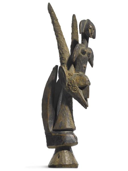 Chiwara народности Bamana на торгах аукционного дома Sotheby's (Сотби)