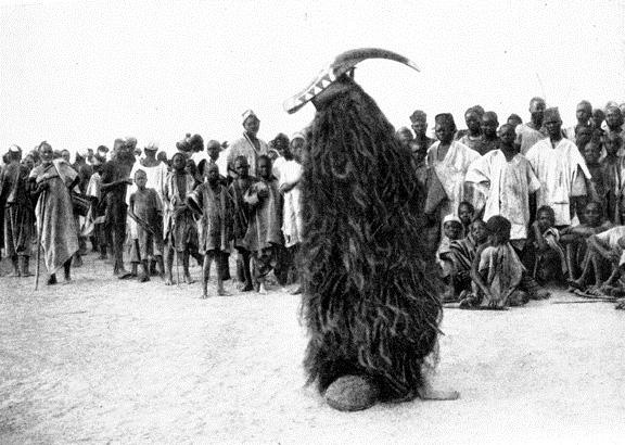 Маска Mossi Ouagadougou. Фото Лео Фробениус 1912 год