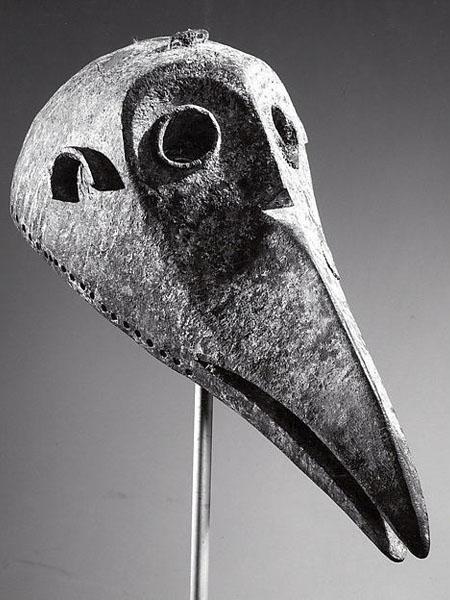 Маска Bamana Bird Metropolitan Museum