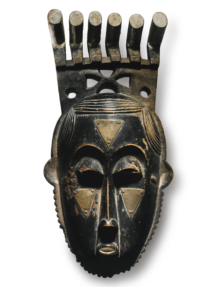 Маска народности Baule (Бауле) как на аукционе Sotheby's