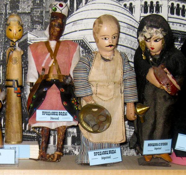 Куклы продавцов воды из Марокко и Афганистана