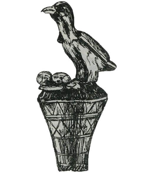 Курица, петух: забота. Символы Африки