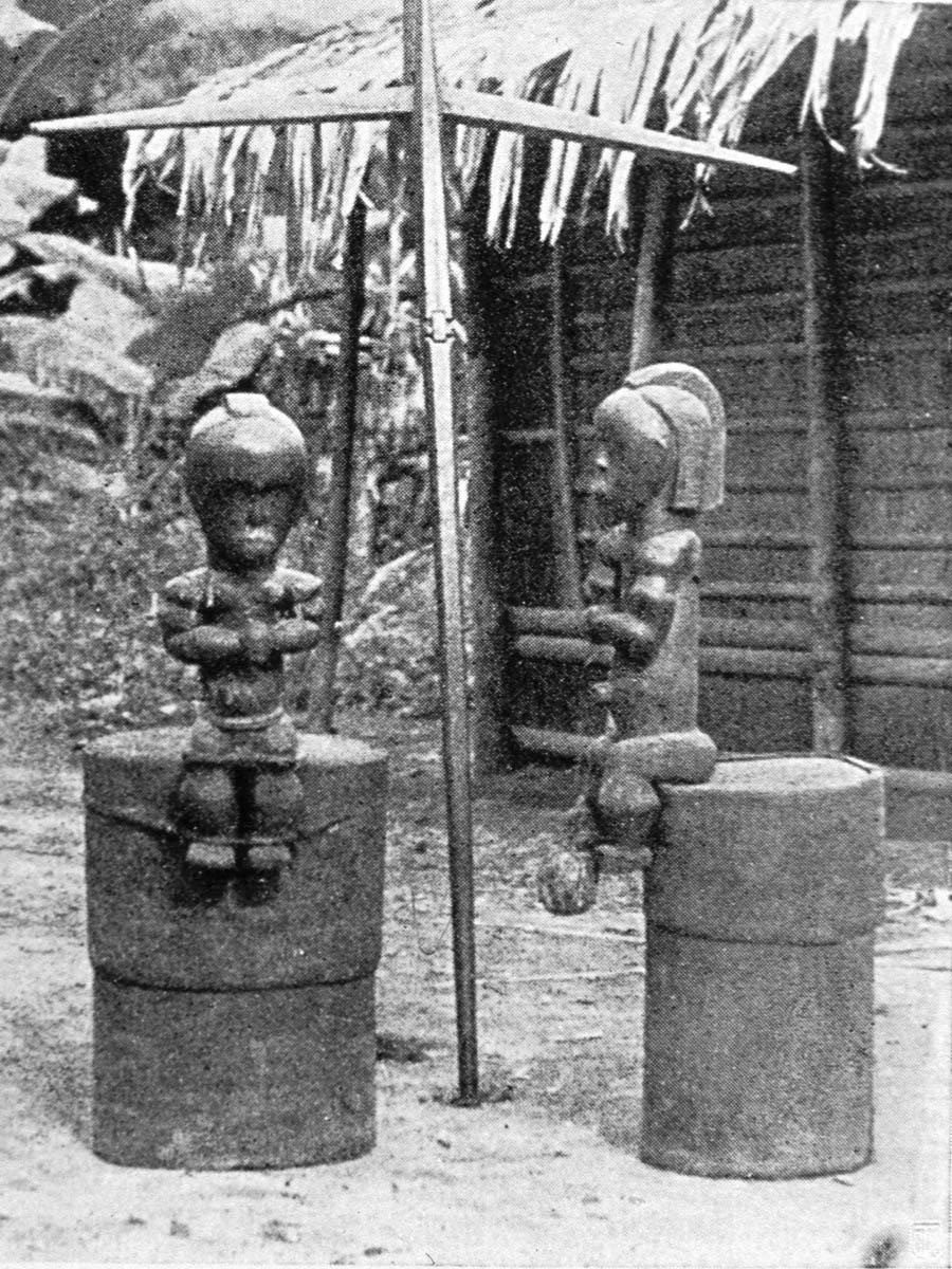 СтатуэткаReliquary Fang Bieri (1914 год).