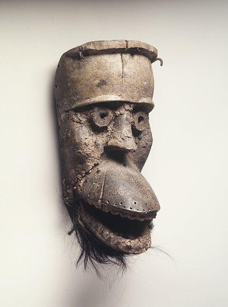 Dan bugle mask из коллекции Brooklyn Museum