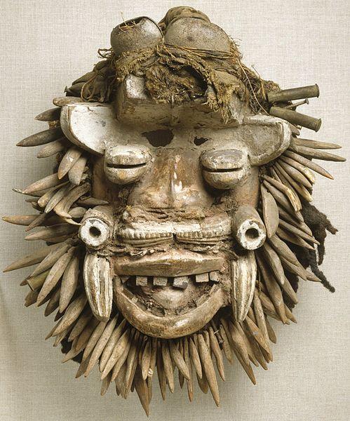 Von Gla mask из коллекции Brooklyn Museum