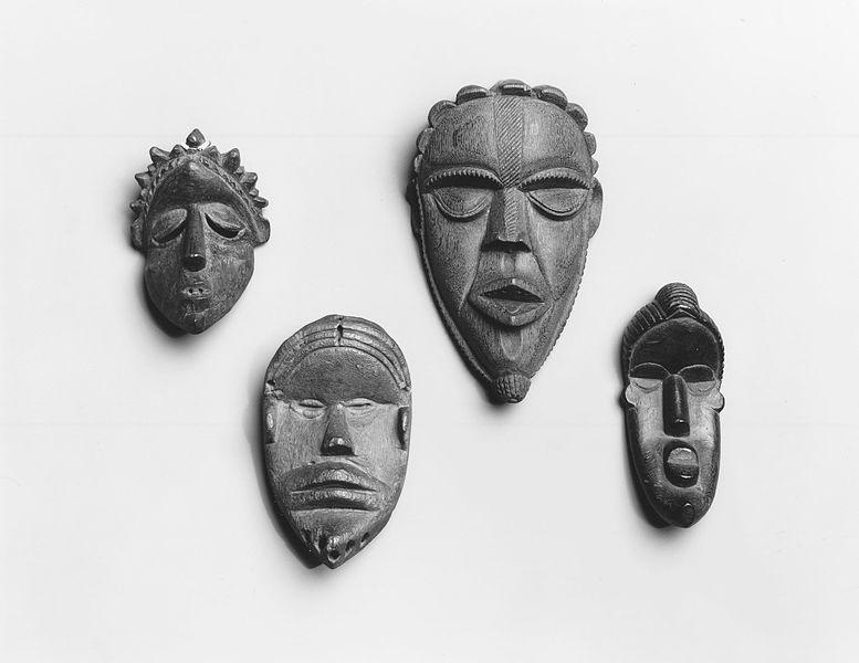 Dan personal miniature masks из коллекции Brooklyn Museum