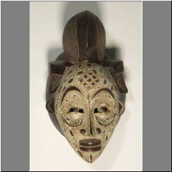 Африканская маска Punu