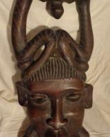 Африканские маски и статуэтки из Мали