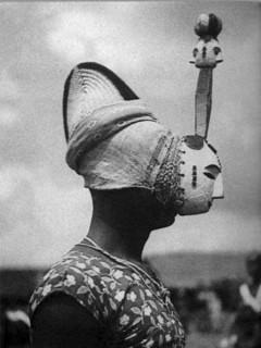 Как надевают африканские маски