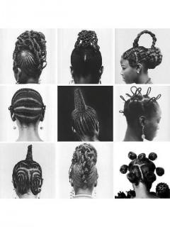 Прически женщин Yoruba