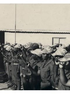 Личные фотографии участника войны в Мозамбике в 1983-1985 годы