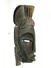 Старая африканская маска Senufo [Кот-д'Ивуар]