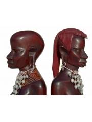 Бюсты масаев - мужчины и женщины