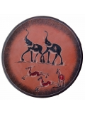 """Африканская тарелка """"Терракот"""" [Кения], 25 см"""