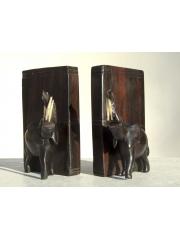 Подставка для книг с фигурками африканских животных - bookends - упор для книг