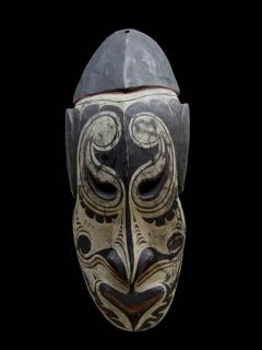Маска духа масали (masali), Папуа-Новая Гвинея.