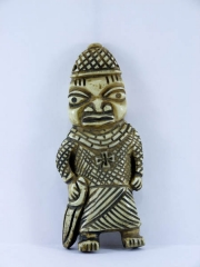 Амулет из кости народности Edo, Нигерия