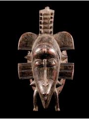 Культовая африканская маска Senufo Kpeliye Poro