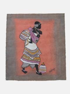 Картина «Розовый закат» [Кения], 40*45 см