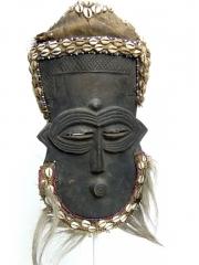 Маска народности Lele из Конго