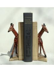 Подставка для книг с фигурками африканских животных - bookend - упор для книг