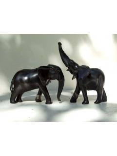Слониха и слоненок [Кения], 12 см
