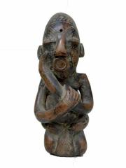 Декоративная статуэтка из глины народа Mangbetu