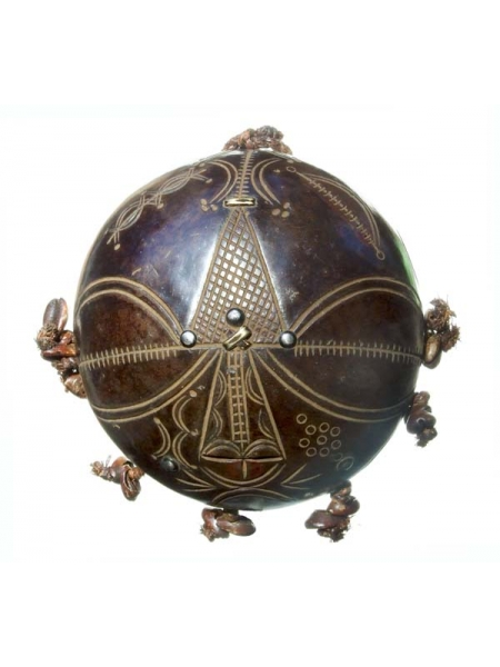 Настенная керамическая маска Tikar