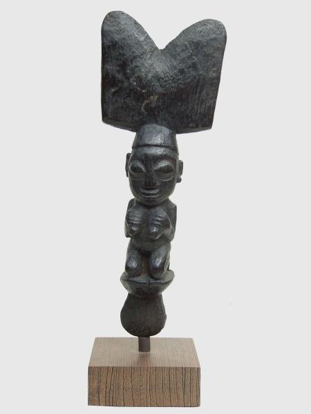 Навершие жезла бога Шанго, Нигерия, народность Йоруба